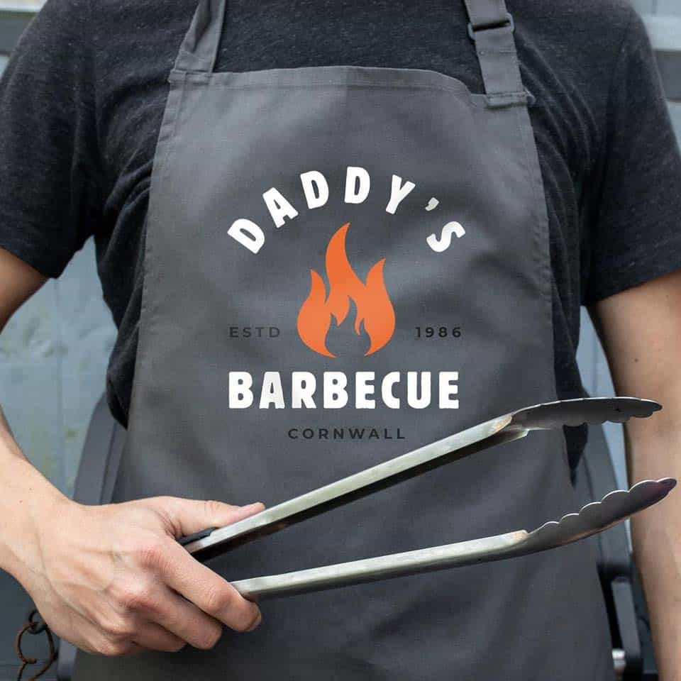 Personalized Barbecue Apron