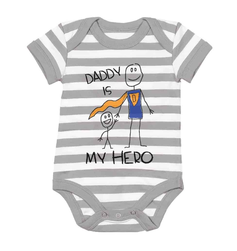 Son Cute Baby Bodysuit fathers day gifts