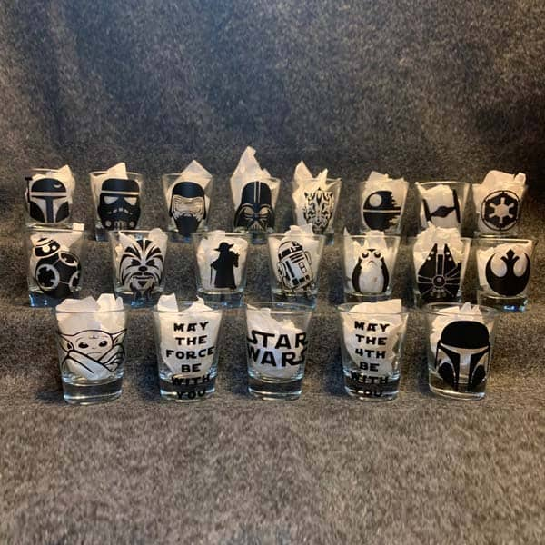 Star Wars Shot Glass - great cheap fathers day gifts