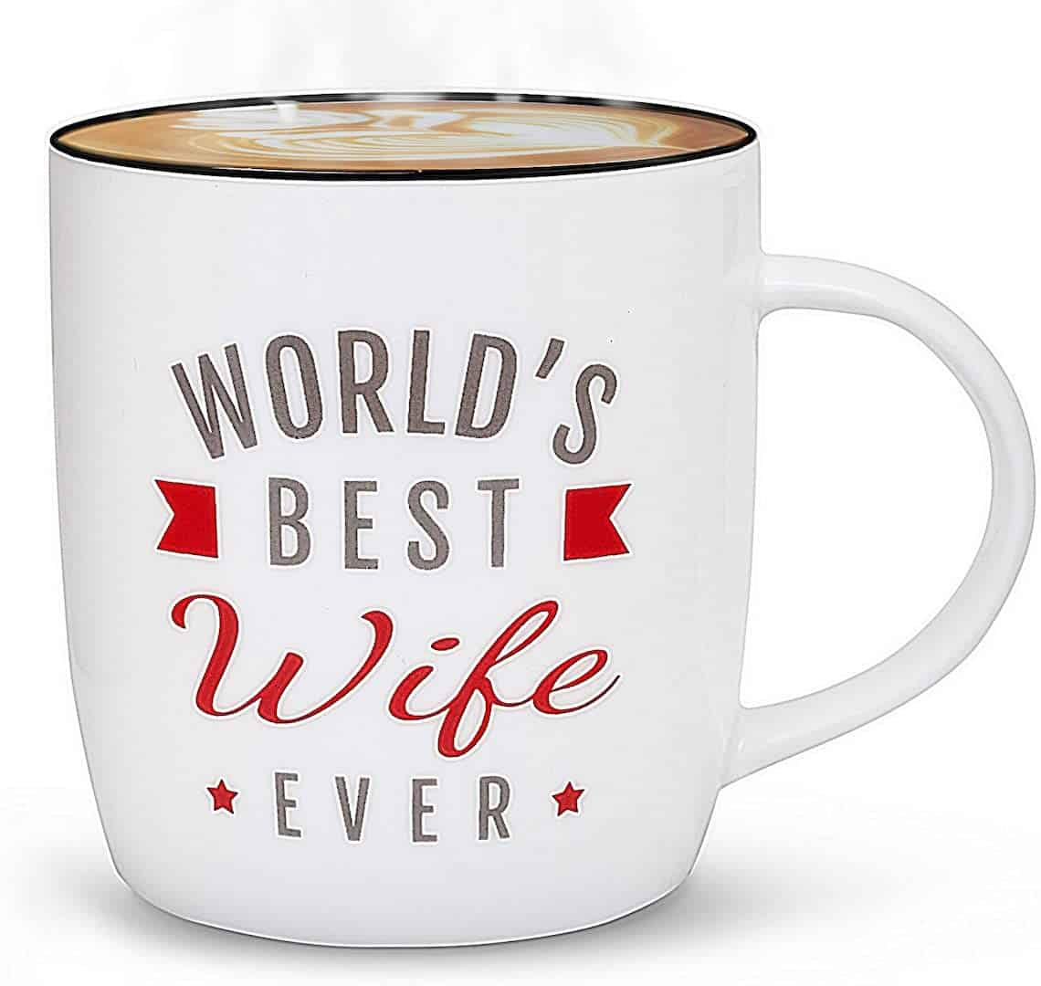 world's best wife ever mug mother's day gift