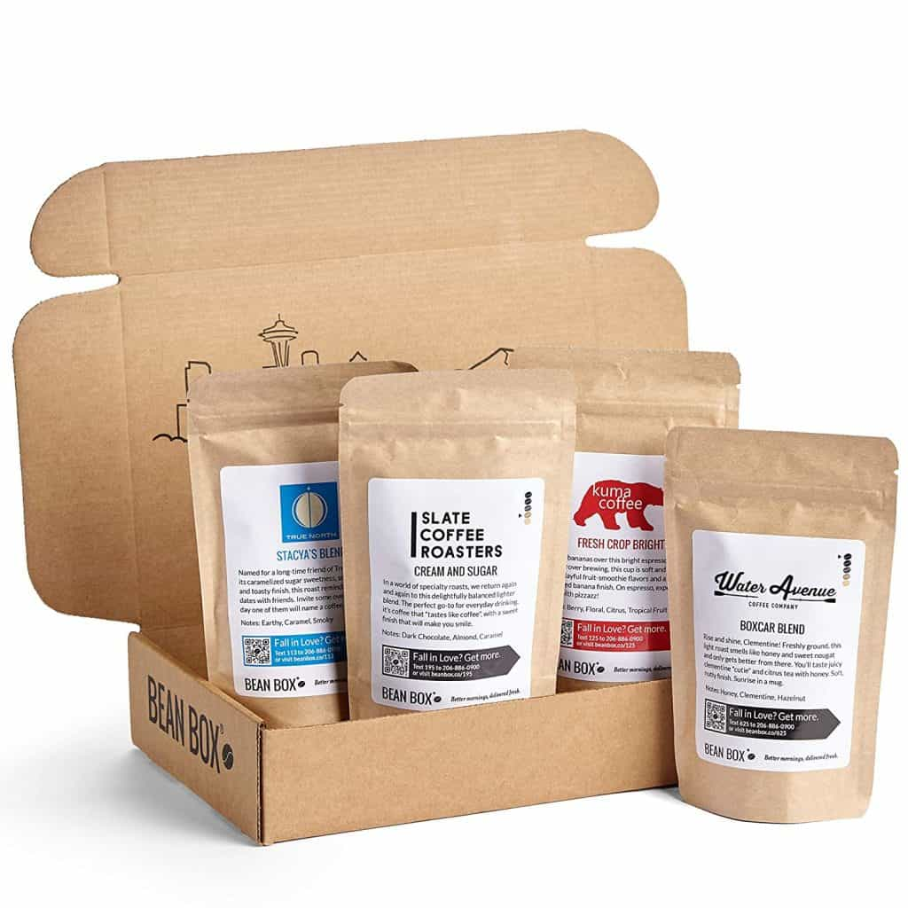 anniversary gifts idea for husband: gourmet coffee sampler