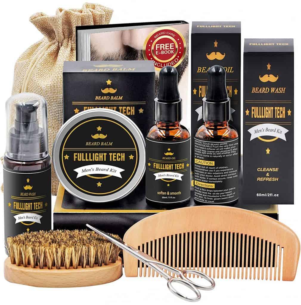 ideas for anniversary gift for him: beard care kit