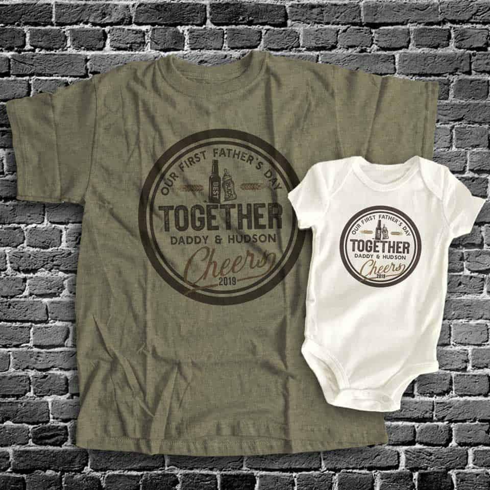 Dad and Kid Matching Shirts