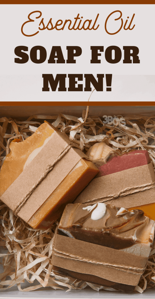 diy father's day gift: handmade soap