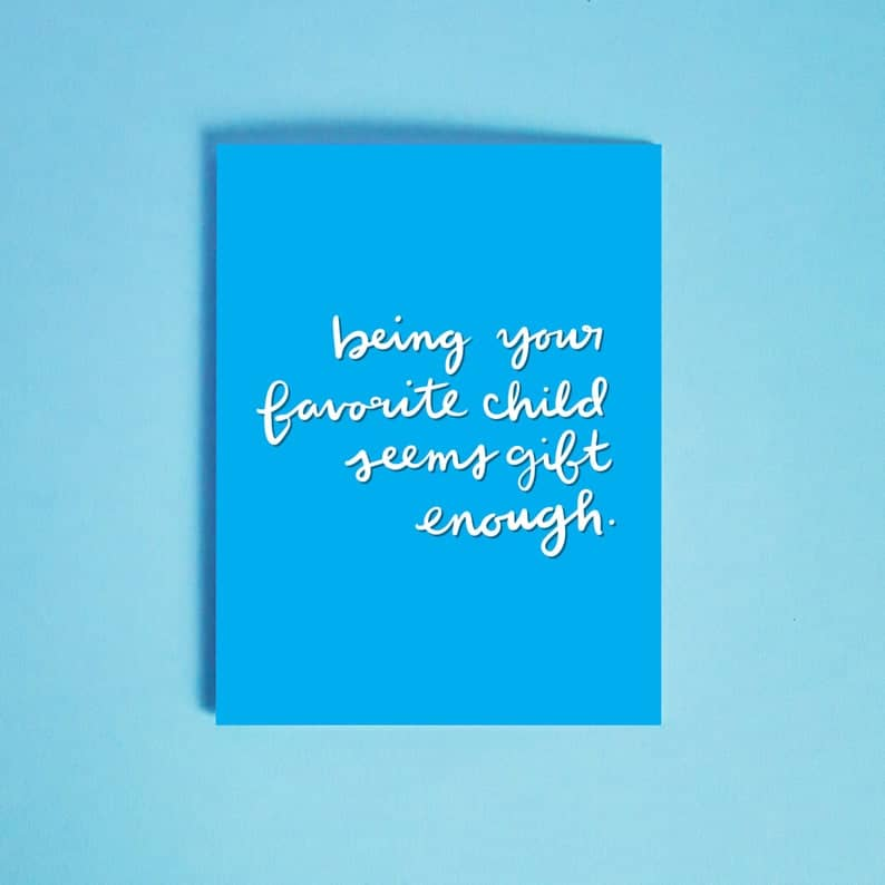 funny greeting card for father's day