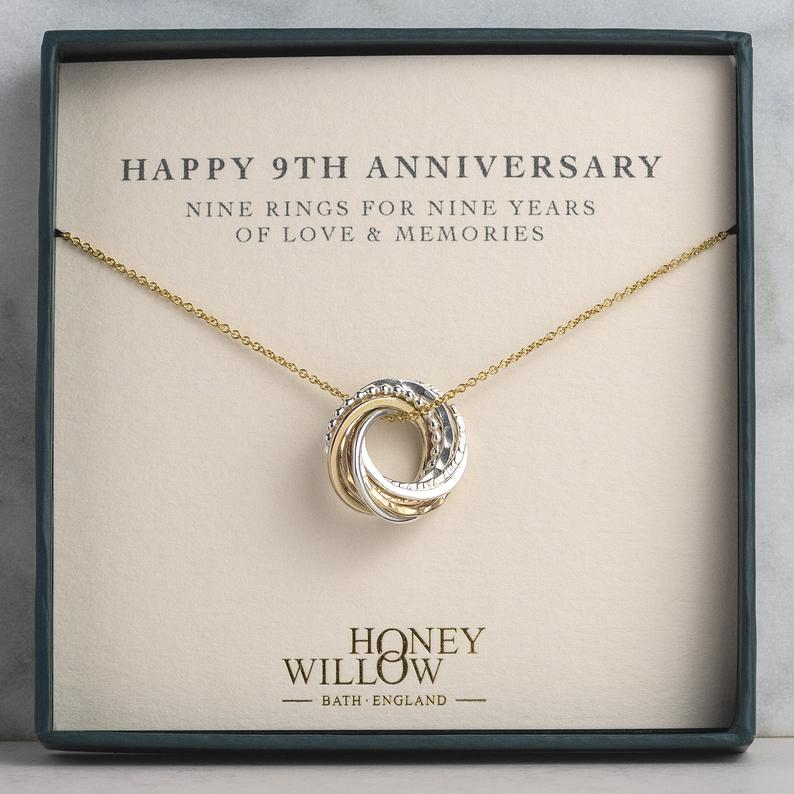 9 Year Anniversary Necklace