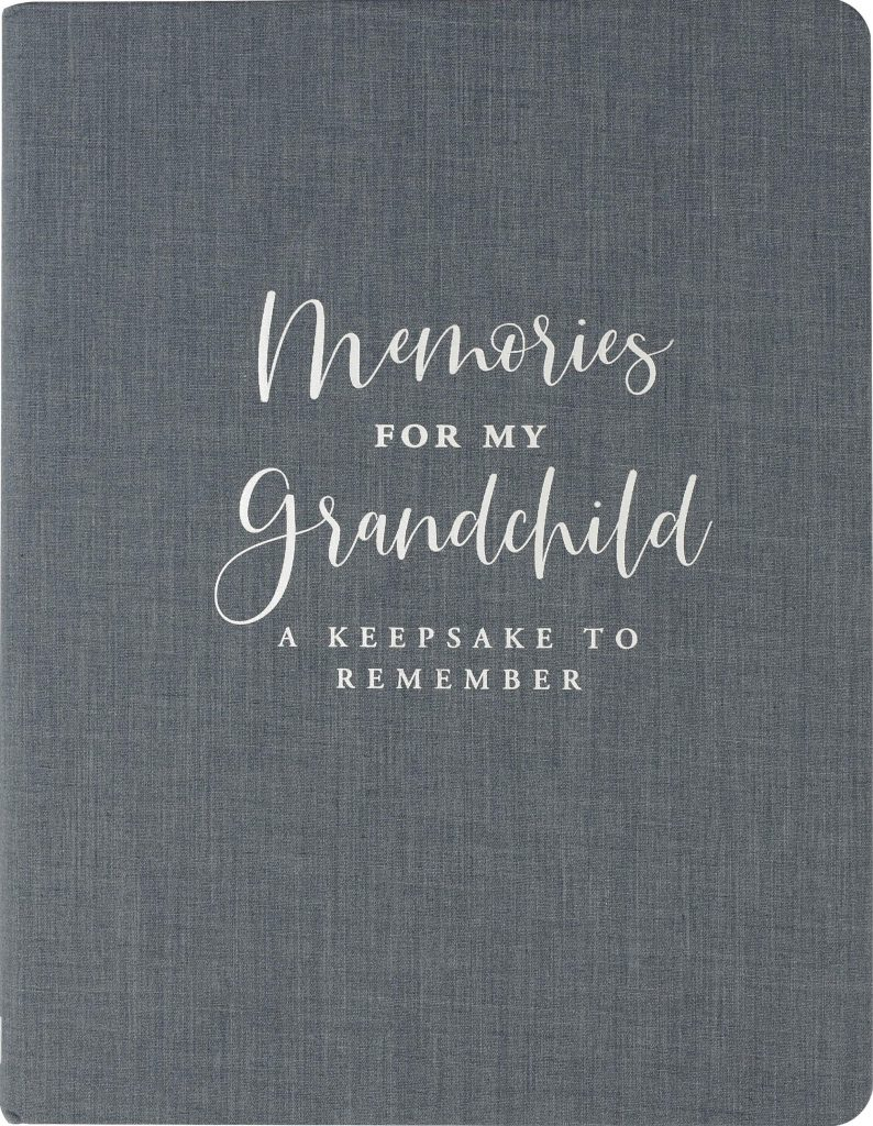 grandmother gifts: memories for my grandchild journal
