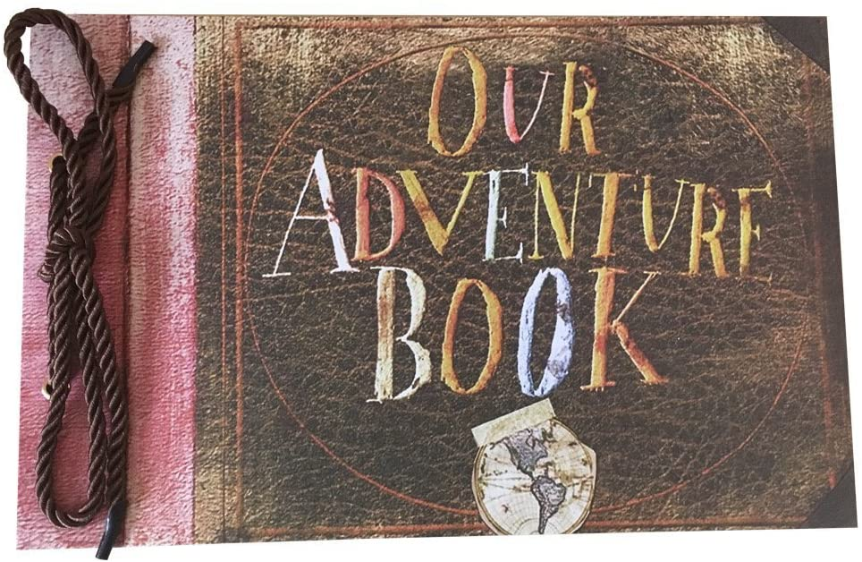 cute anniversary gifts for him: our adventure book photo album
