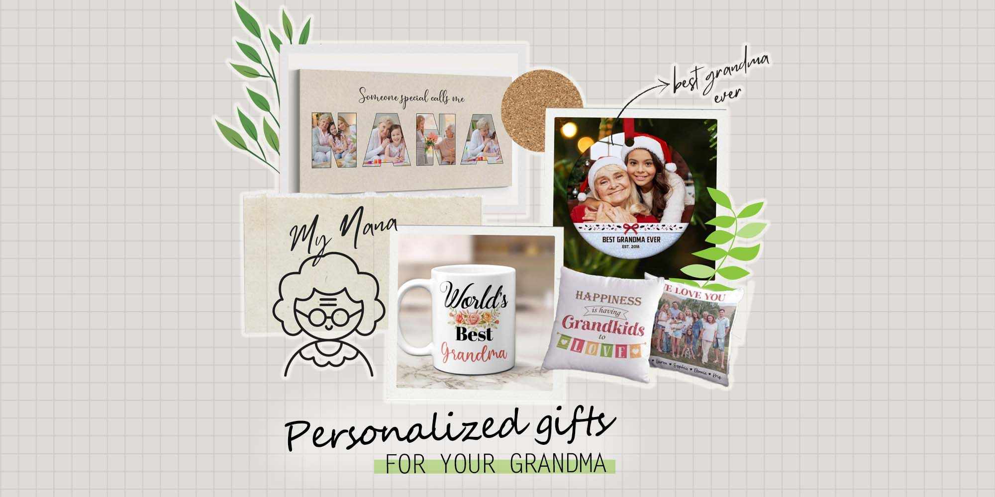 25+ Best Personalized Gifts for Grandma to Make Her Heart Melt (2021)