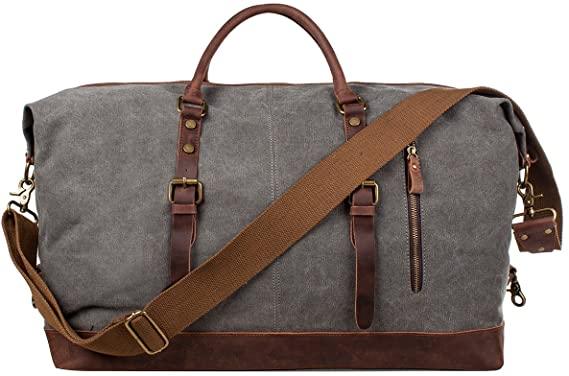 anniversary gift for men: weekender bag