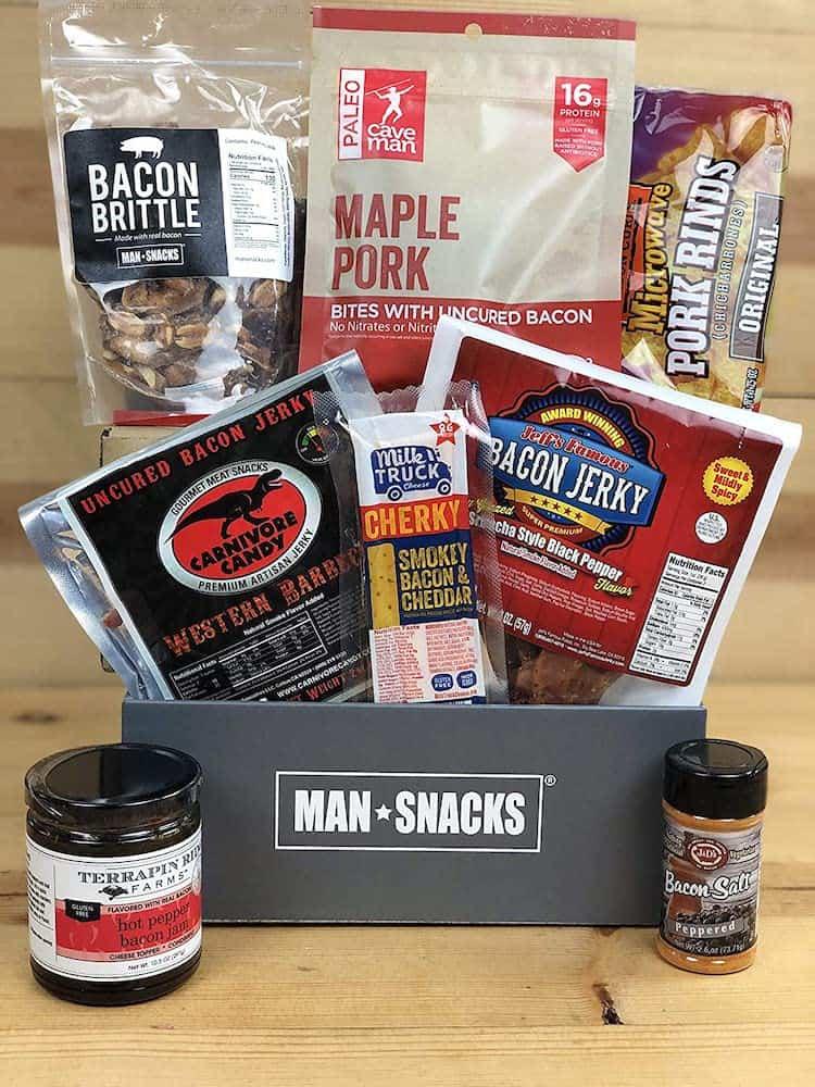Bacon Bacon Bacon Gift Box for husband