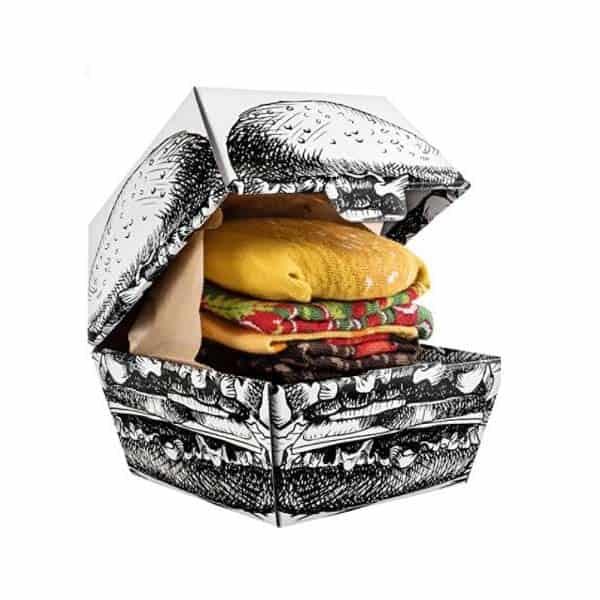 Burger Socks Box