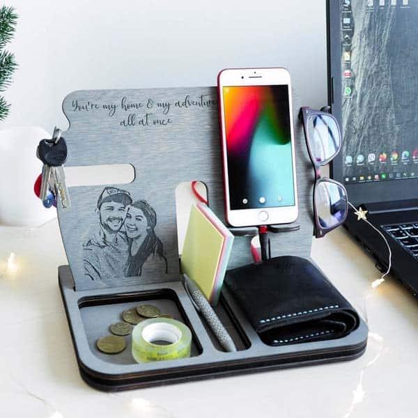 custom gifts for boyfriend: Custom Phone Stand