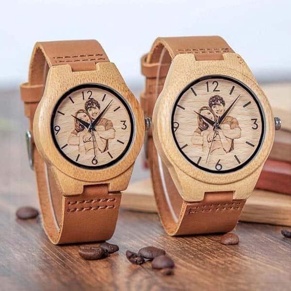 Custom Wooden Watch