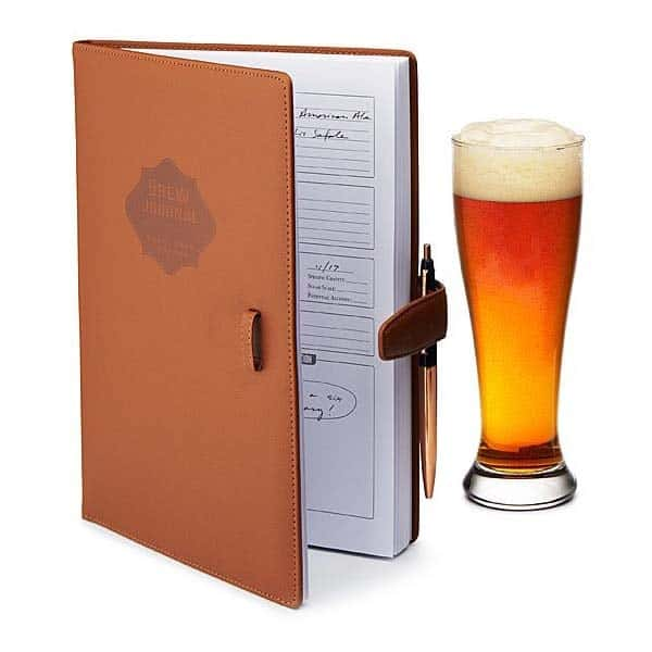 gifts to get your boyfriend: Home Brew Journal
