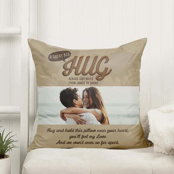 sweetest gifts for boyfriend: Long Distance Pillow