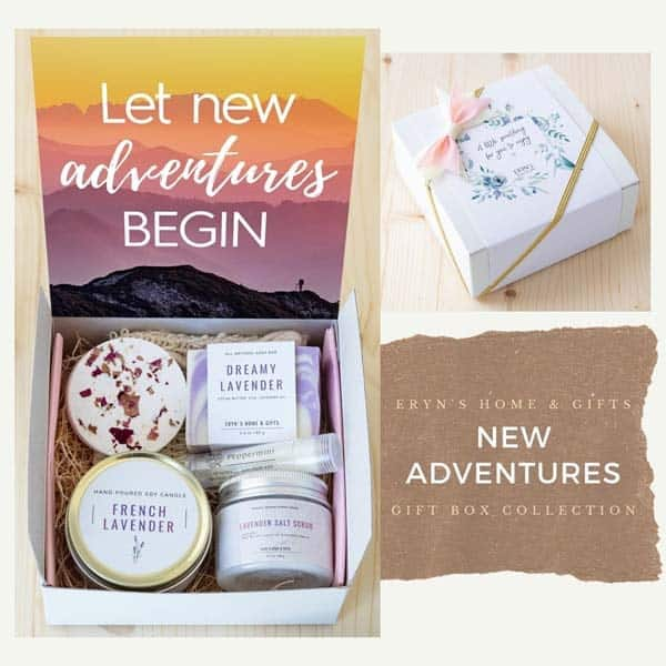 parting gifts: New Adventures Gift Box