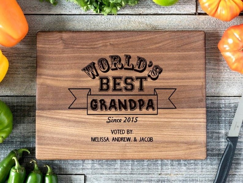 Personalized Cutting Board Engraved Chopping Board