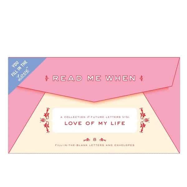 cute gifts for boyfriend: Read Me When Box