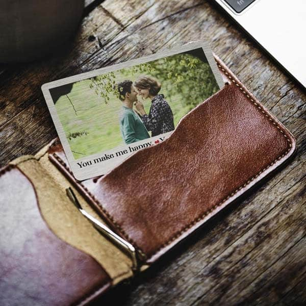 cute picture gifts for boyfriend: Wallet Insert Photo Card
