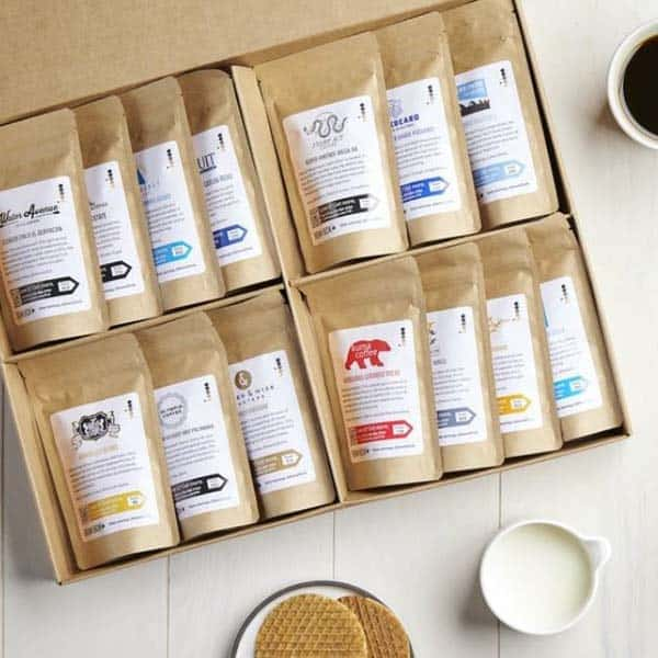 things to give your boyfriend: World Coffee Tour Box