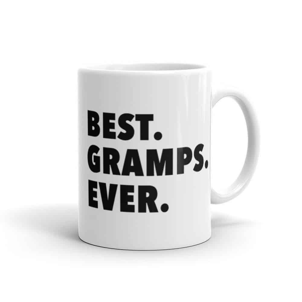 best gramps ever coffee mug for new grandad