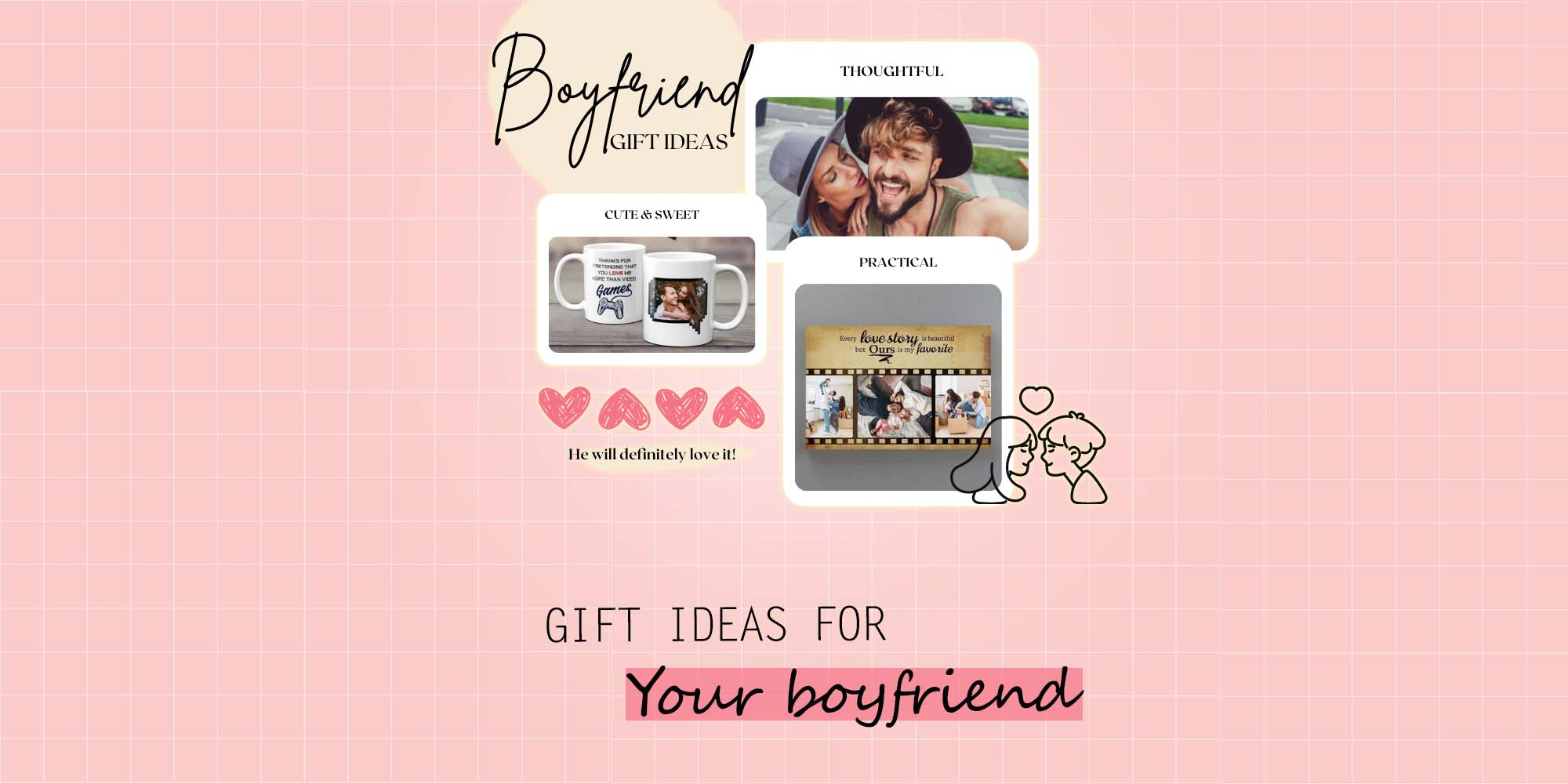 46 Thoughtful Gifts For Boyfriend He'll Love (2021)