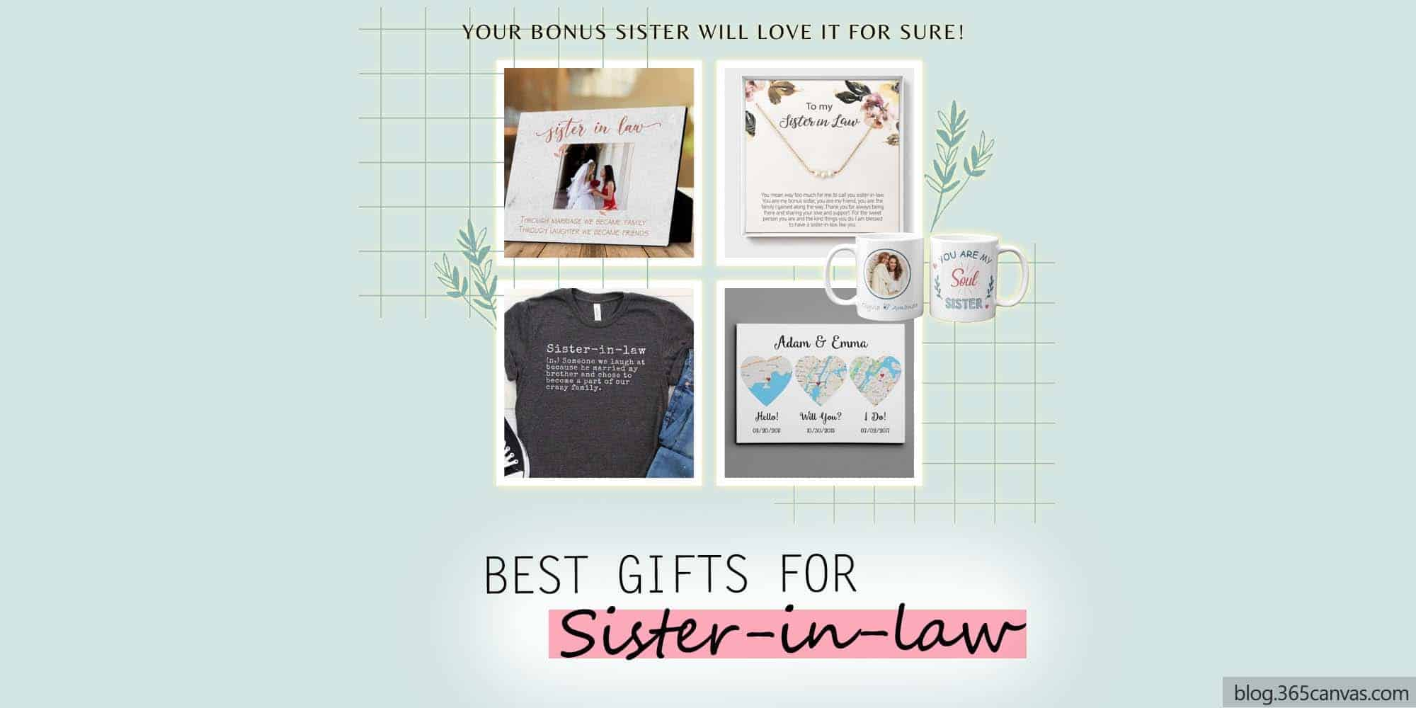 32 Best Gifts For Sister-In-Law That Every Bonus Sister Will Love (2021)