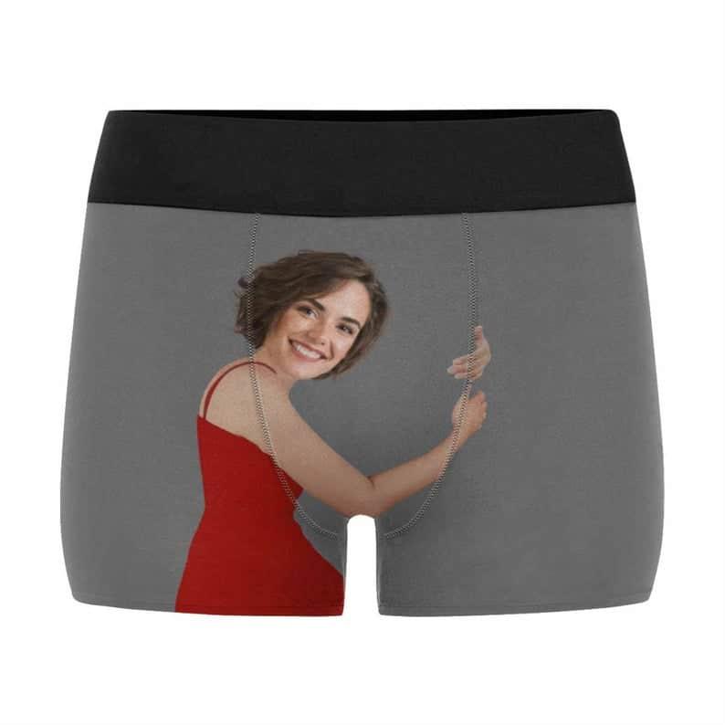 funny gift for husband: custom boxer briefs