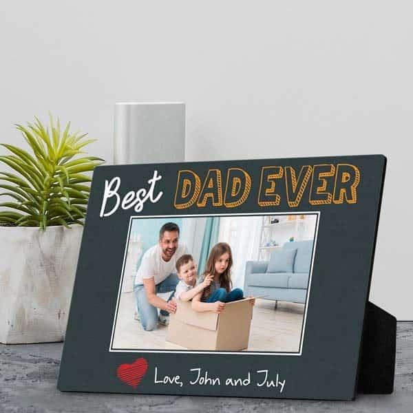 Best Dad Ever Plaque