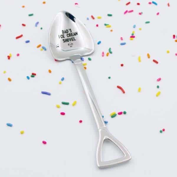 Custom Ice Cream Shovel Spoon