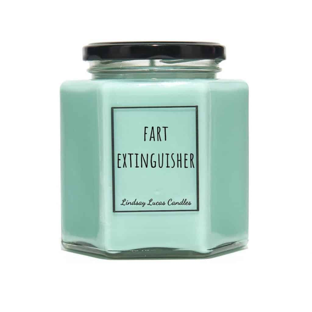 Fart Extinguisher Candle funny boyfriend gift