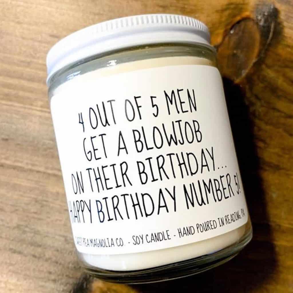 Funny Birthday Candle For Boyfriend