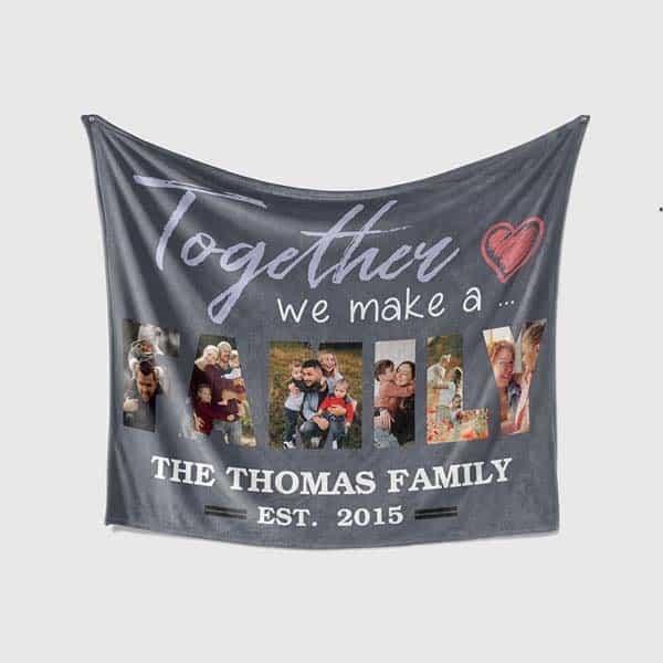 Together We Make A Family Blanket