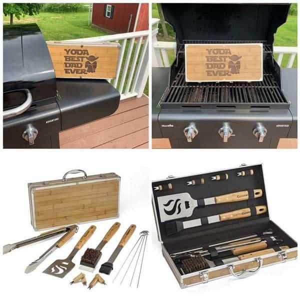 Unique BBQ Grilling Set