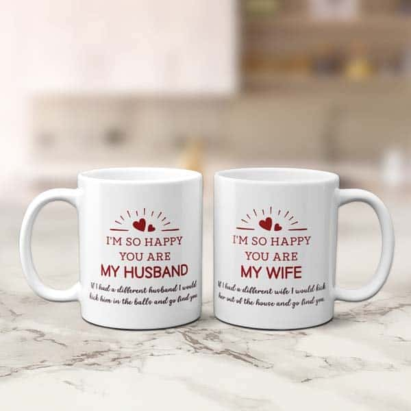You Are My Husband Couple Mug