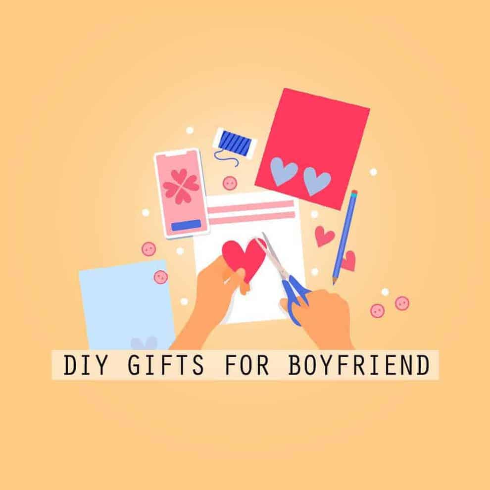 DIY gifts for boyfriend article