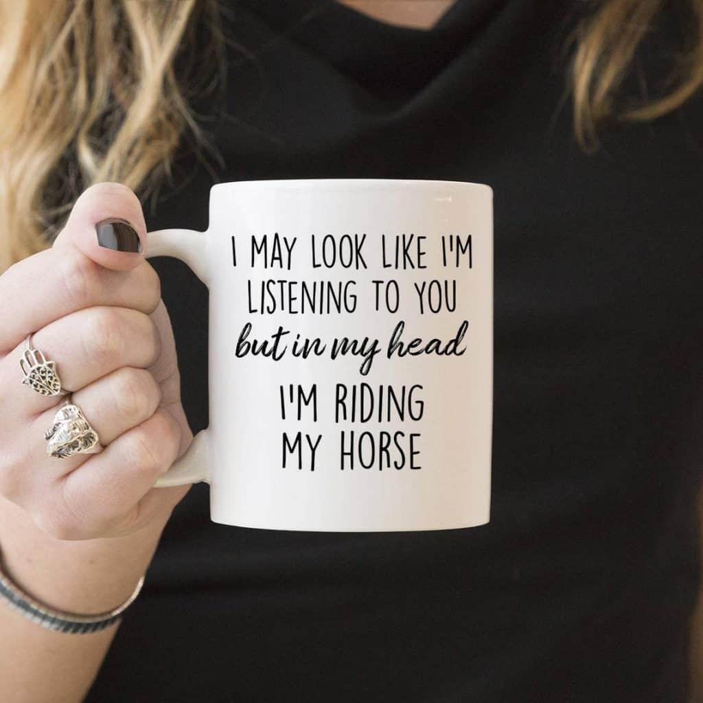 mug - horse gifts