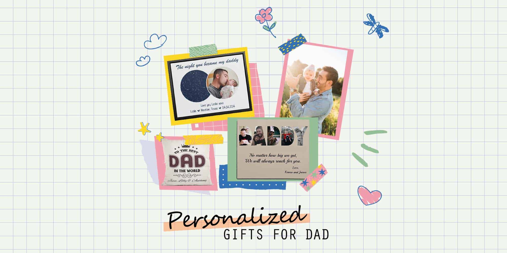 32 Personalized Gifts for Dad To Spoil Any Father (2021)