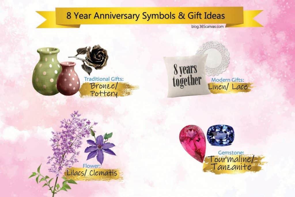 5 Year Anniversary Symbols & Gift Ideas