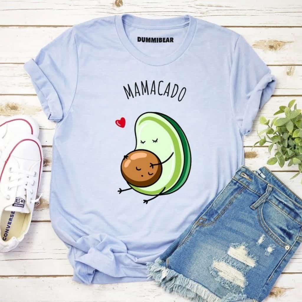 Avocado Pregnant Shirt