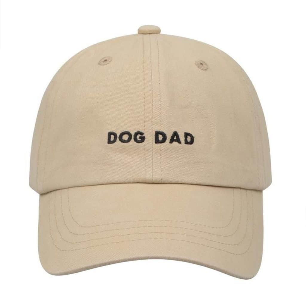 Baseball cap for dog dad