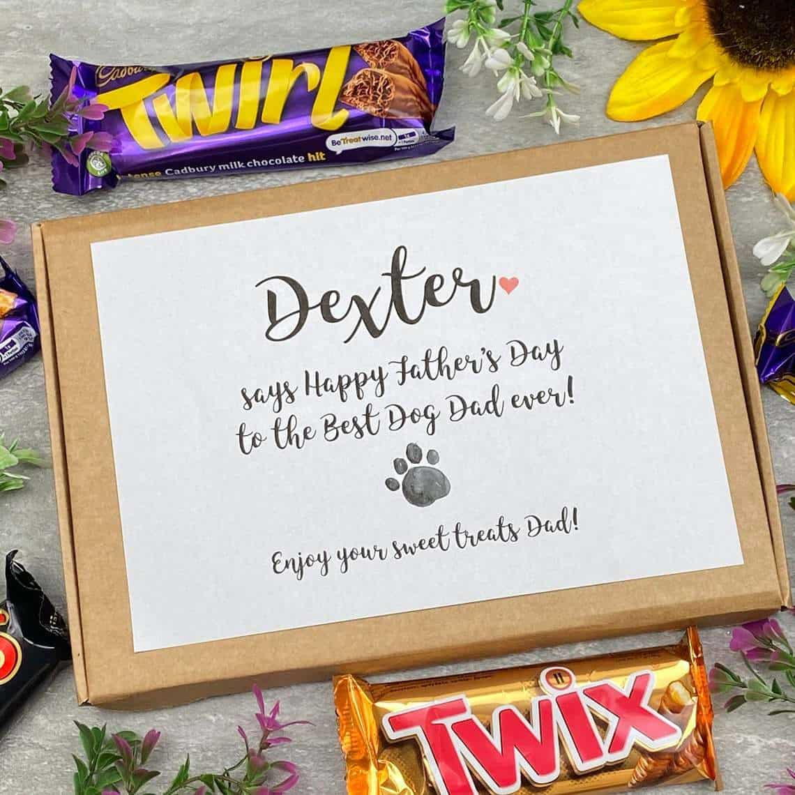 Chocolate Hamper, Father's Day from the dog