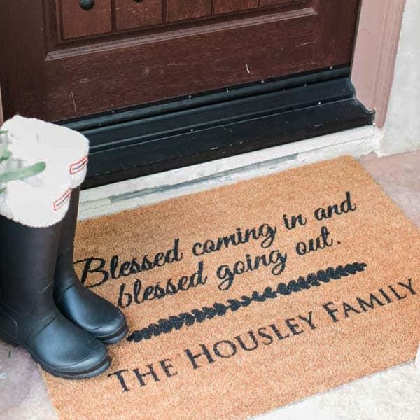 Christian doormat