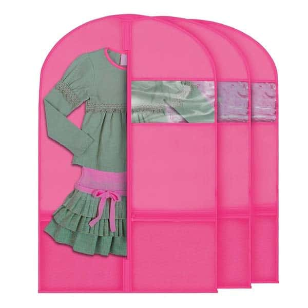 Garment Bags for Kids Dance Costumes