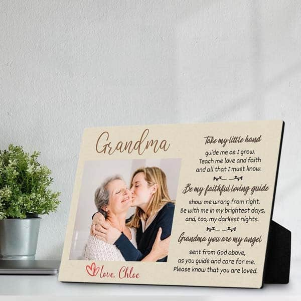 religious gifts for her: grandma plaque