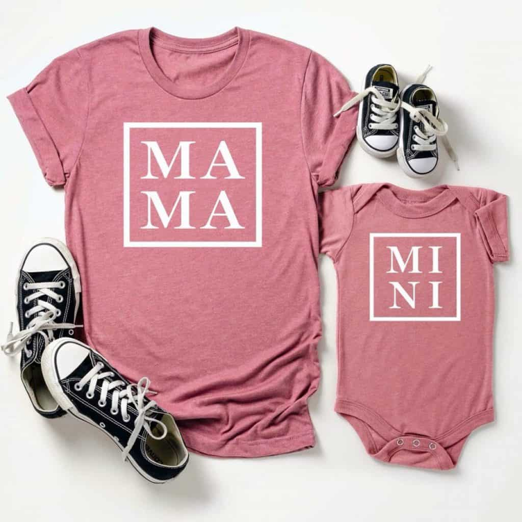 Mommy and Me Shirt