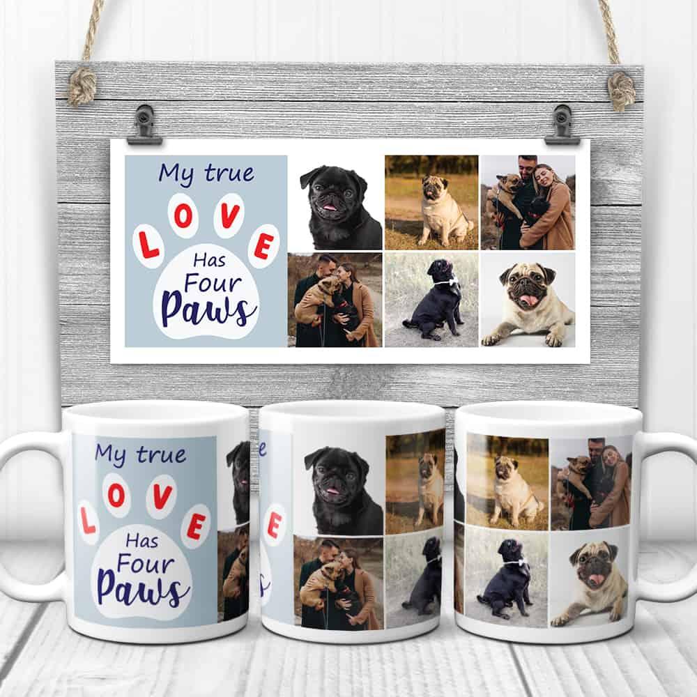 Dog Custom mug for father's day