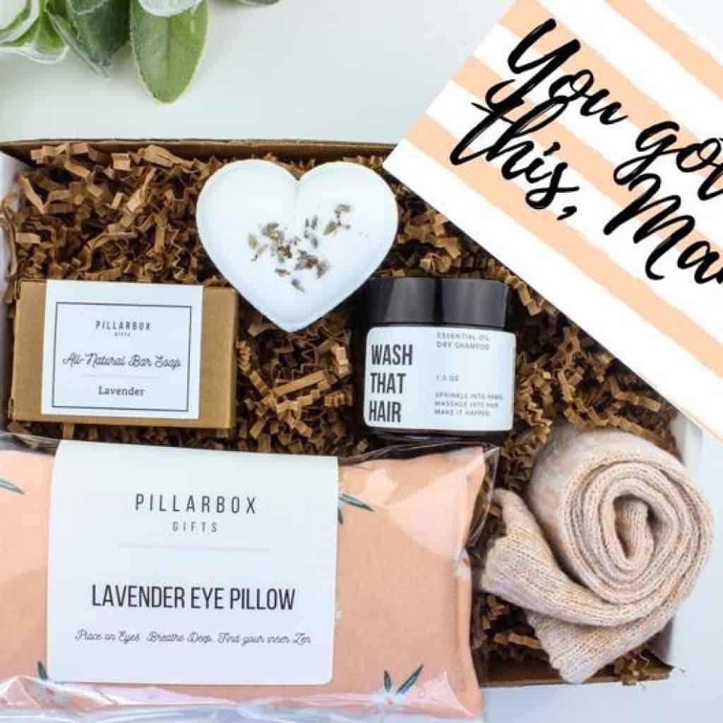 New Mom Spa Gift Box
