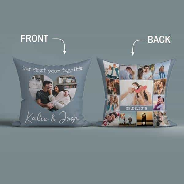 Our First Year Together Pillow